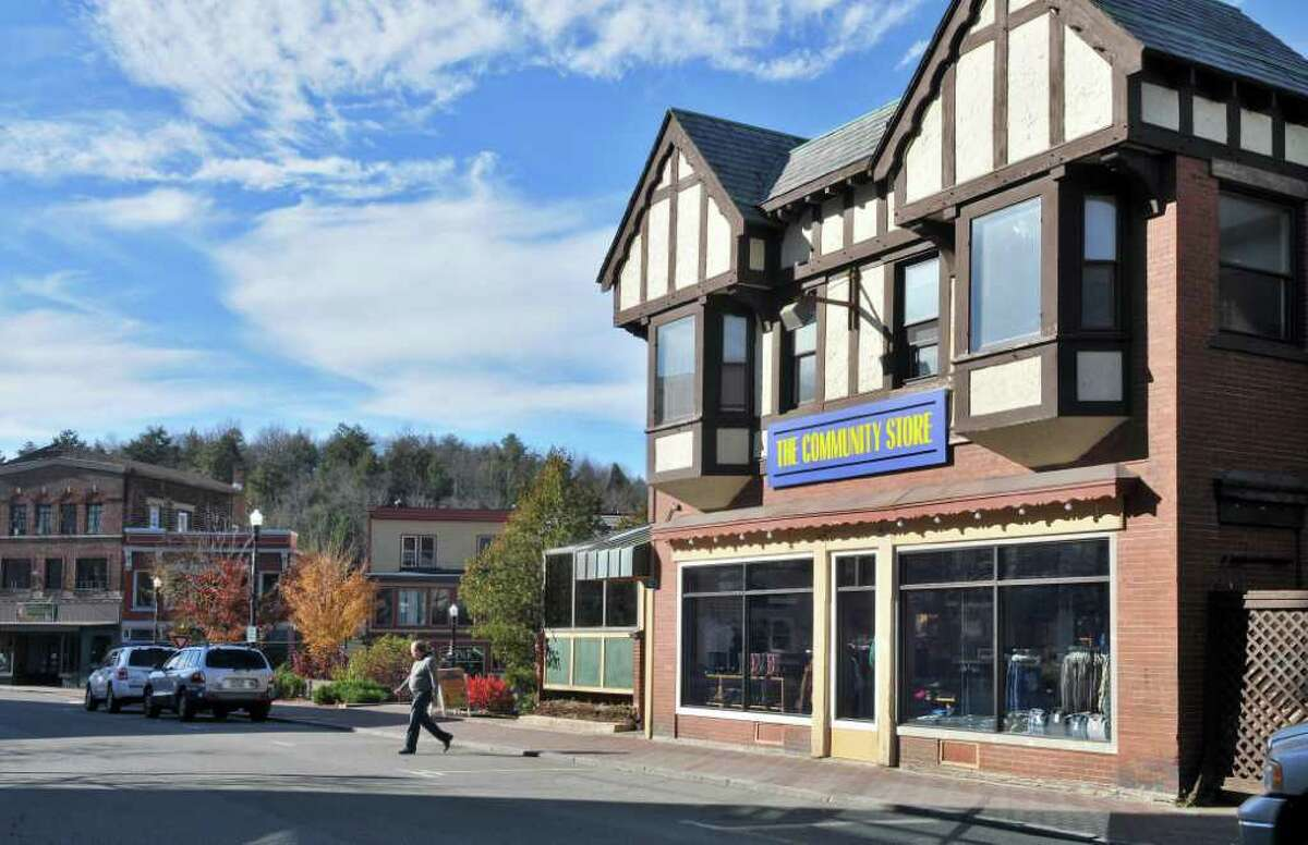 The Community Store on Main Street in Saranac Lake Wednesday Nov. 9, 2011. (John Carl D'Annibale / Times Union)
