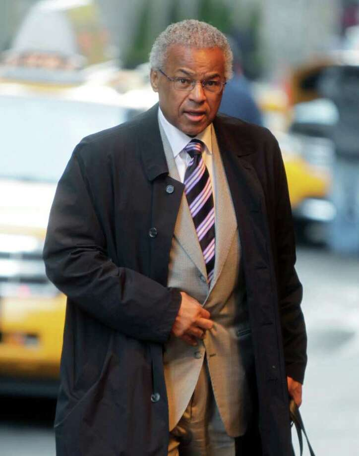 NBA Players Association executive director Billy Hunter arrives for a meeting in New York, Monday, Nov. 14, 2011. The players' association is meeting to discuss the league's proposal for a new labor deal. (AP Photo/Seth Wenig) Photo: Seth Wenig