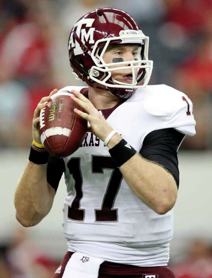 BAD TIMING: While generally productive, Ryan Tannehill has had some interceptions that contributed to A&M's blown leads. EDWARD A. ORNELAS:  SAN ANTONIO EXPRESS-NEWSs Photo: EDWARD A. ORNELAS / © SAN ANTONIO EXPRESS-NEWS (NFS)