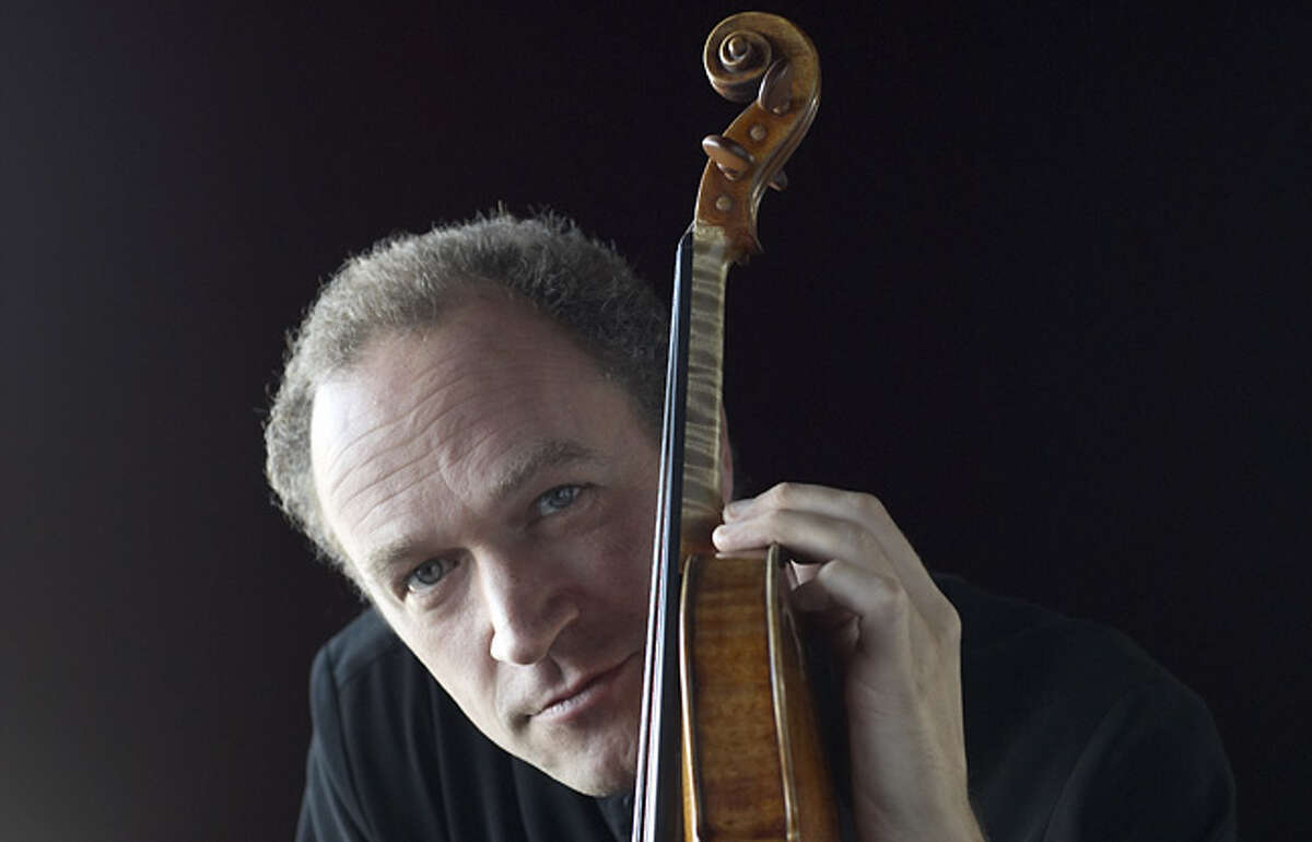 Violinist Kolja Blacher. Courtesy of the San Antonio Symphony