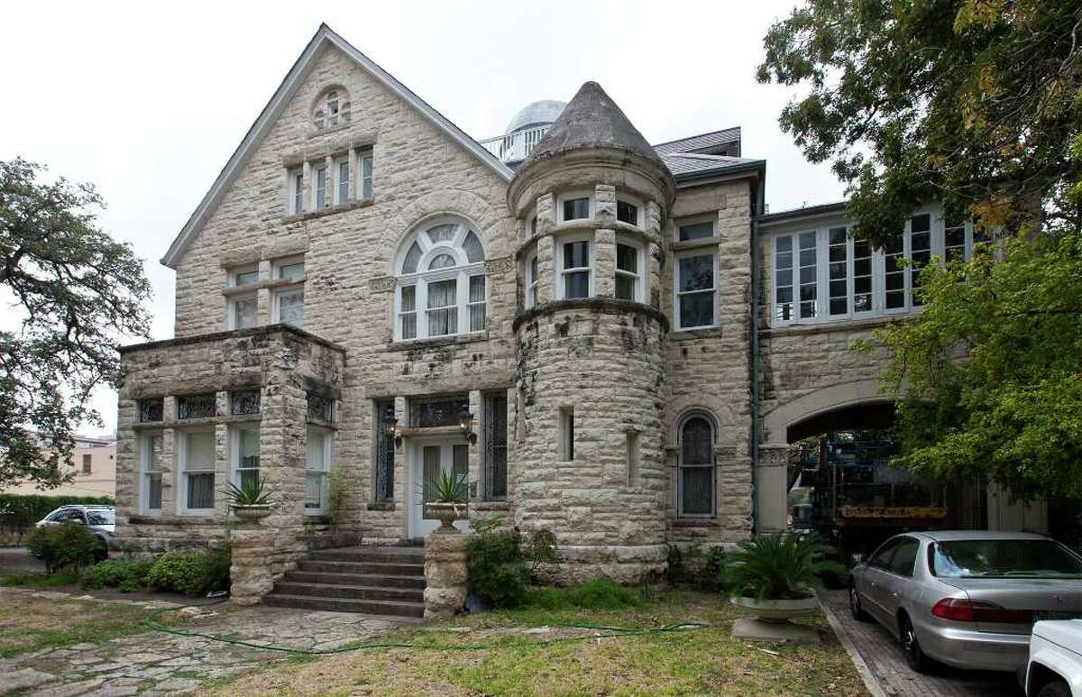 Exterior photo of the Maverick-Carter House, 119 Taylor St., on Monday.