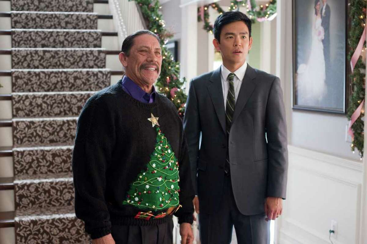 DANNY TREJO as Mr. Perez and JOHN CHO as Harold in New Line Cinema's and Mandate Pictures' comedy