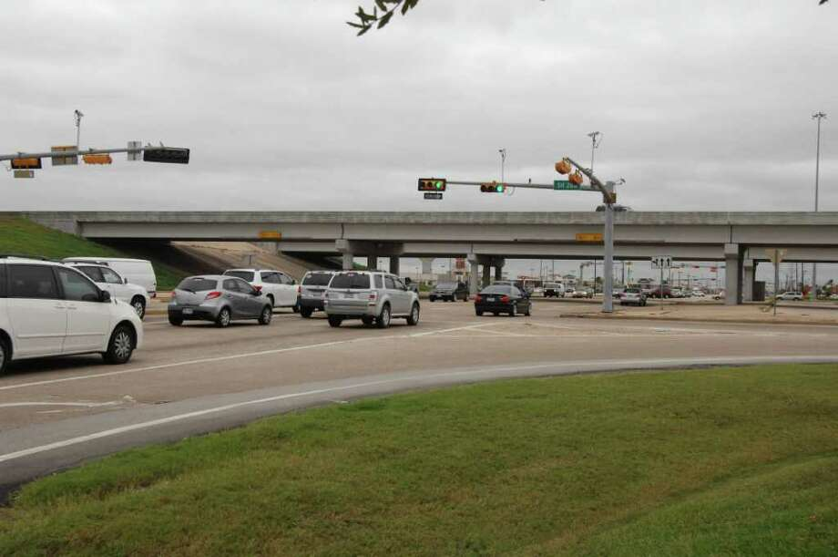 Traffic congestion at 518 and 288 in Pearland. Photo: Jimmy Loyd / freelance