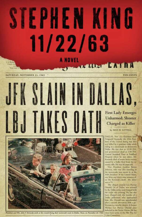 "In this book cover image released by Scribner, ""11/22/63,"" by Stephen King, is shown. Photo: AP / Scribner"