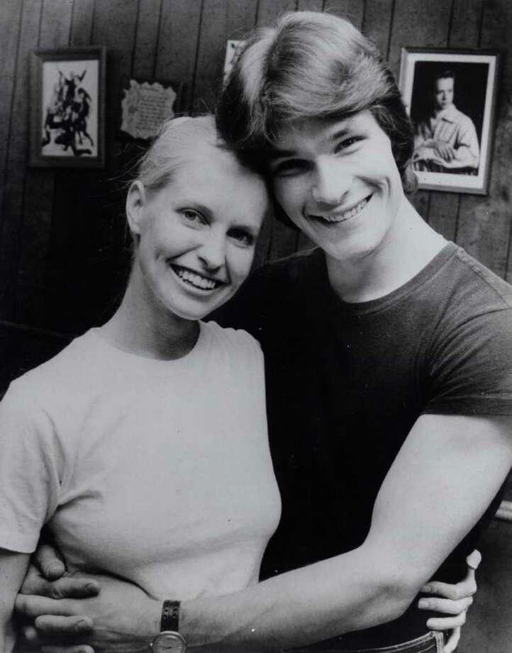 Lisa Haapaniemi (aka Lisa Niemi) and husband Patrick Swayze at Patsy Swayze's dance studio in Houston in 1978. Tom Colburn / Houston Chronicle Photo: Tom Colburn / Houston Chronicle