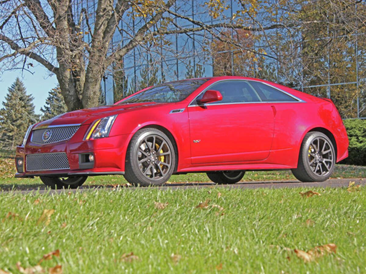 2012 Cadillac CTS-V Coupe (photo by Dan Lyons)