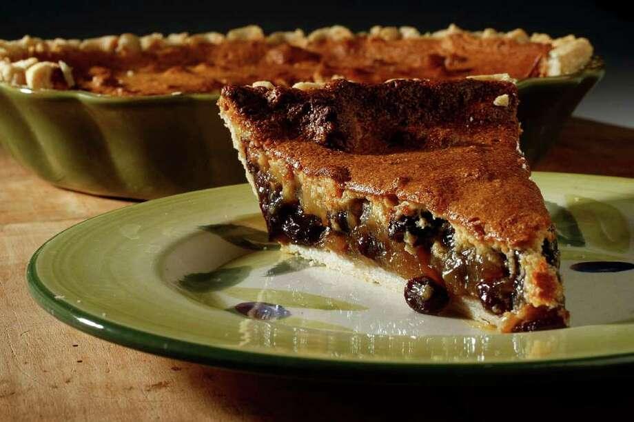JOHNNY HANSON : STAFF SWEETNESS: Rich Raisin Pie lives up to its name. Photo: Johnny Hanson / © 2011 Houston Chronicle