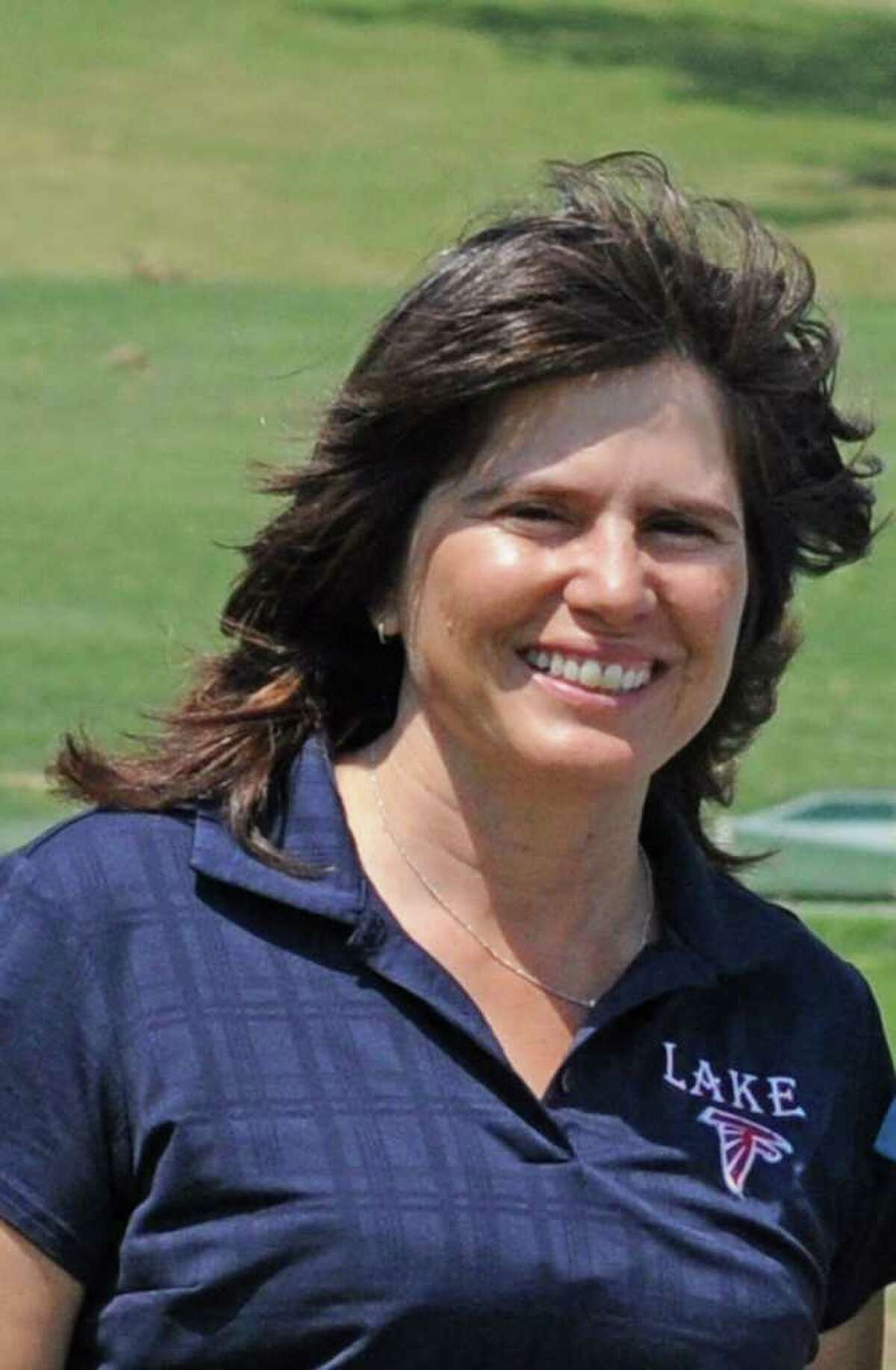 Clear Lake golf coach Karolyn Criado is in her eight season with the Lady Falcons in 2011-12.