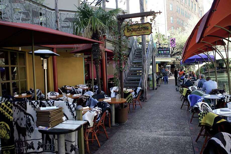 Boudroson the Riverwalk, 421 E. Commerce St., 210-224-8484, is offering its full dinner menu, 11 a.m.-11 p.m. Photo: KEVIN GEIL, SAN ANTONIO EXPRESS-NEWS / SAN ANTONIO EXPRESS-NEWS