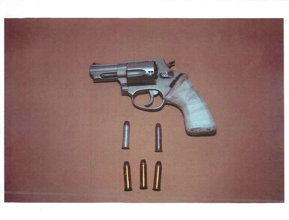 A Taurus .357 magnum revolver found on Aaron Bennett during an October traffic stop. (Albany County District Attorney's Office)