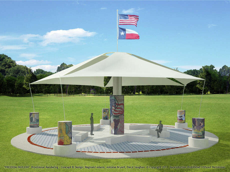 PATRIOTIC PROJECT: Construction could start yet this year on the Freedom Pavilion in Fort Bend County.