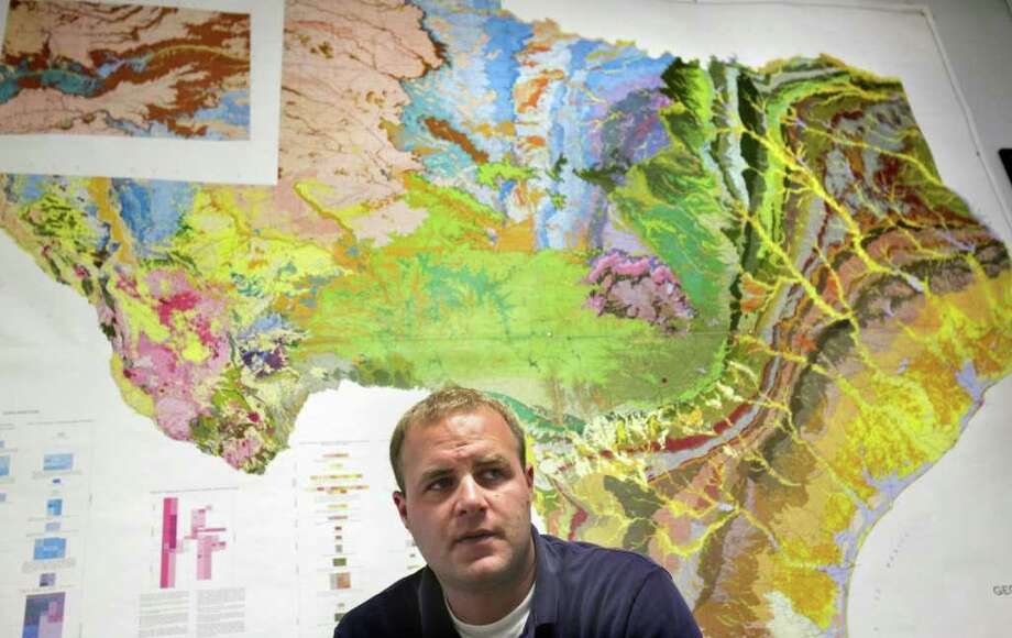 Micah Voulgaris is manager of Cow Creek Groundwater Conservation District in Kendall County. Photo: BOB OWEN, SAN ANTONIO EXPRESS-NEWS / rowen@express-news.net