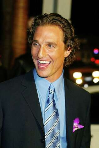 2005: Matthew McConaughey Photo: Kevin Winter, Getty Images / 2003 Getty Images
