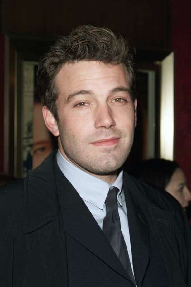 2002: Ben Affleck Photo: Nick Elgar, Getty Images / Getty Images North America