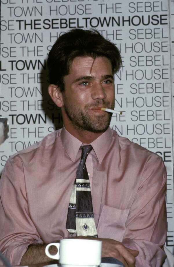 And now for the men from the past. 1985: Mel Gibson Photo: Patrick Riviere, Getty Images / 2004 Getty Images