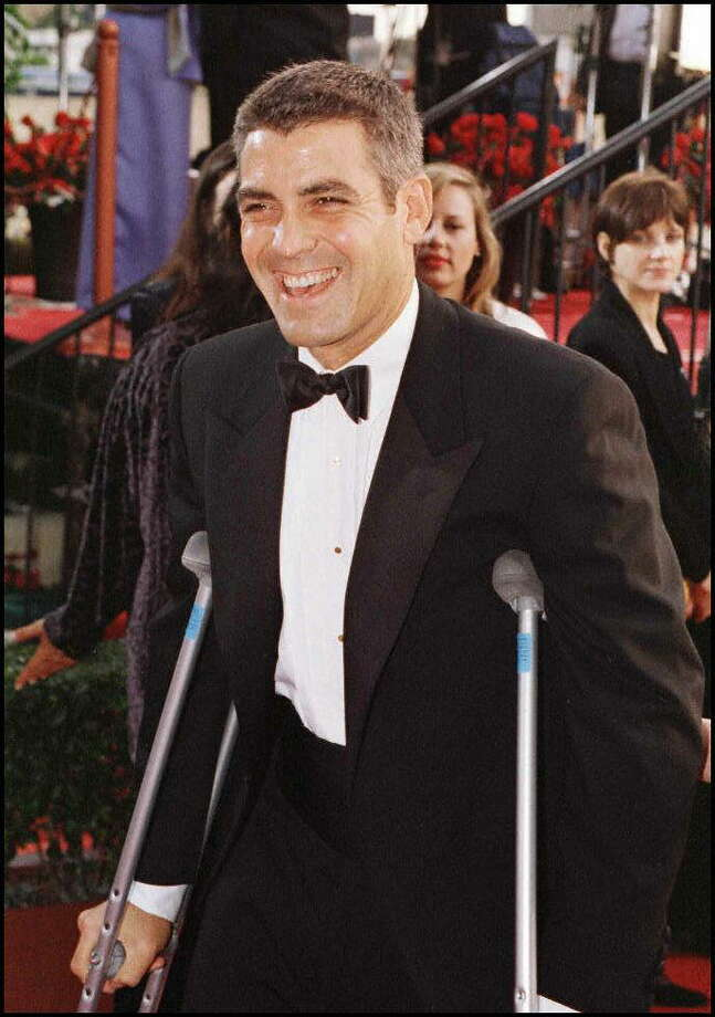 1997: George Clooney Photo: Vince Bucci, AFP/Getty Images / AFP