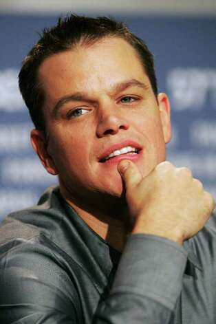 2007: Matt Damon Photo: Sean Gallup, Getty Images / 2007 Getty Images