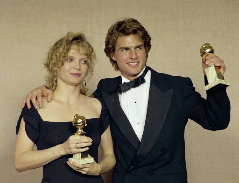 1990: Tom Cruise (pictured here with Michelle Pfeiffer)