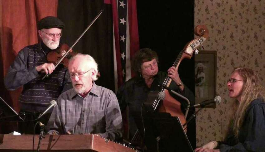 George Wilson, Bill Spence, Betsy Fry and Toby Stover in