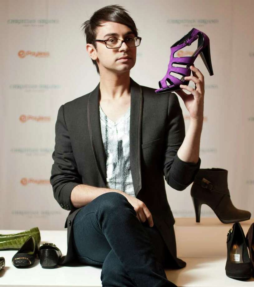 Fashion designer Christian Siriano sells a line of women's shoes at Payless ShoeSource. Photo: NICK DE LA TORRE, HOUSTON CHRONICLE / © 2011  Houston Chronicle
