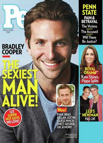 Bradley Cooper won the 2011 title. Photo: Courtesy People Magazine