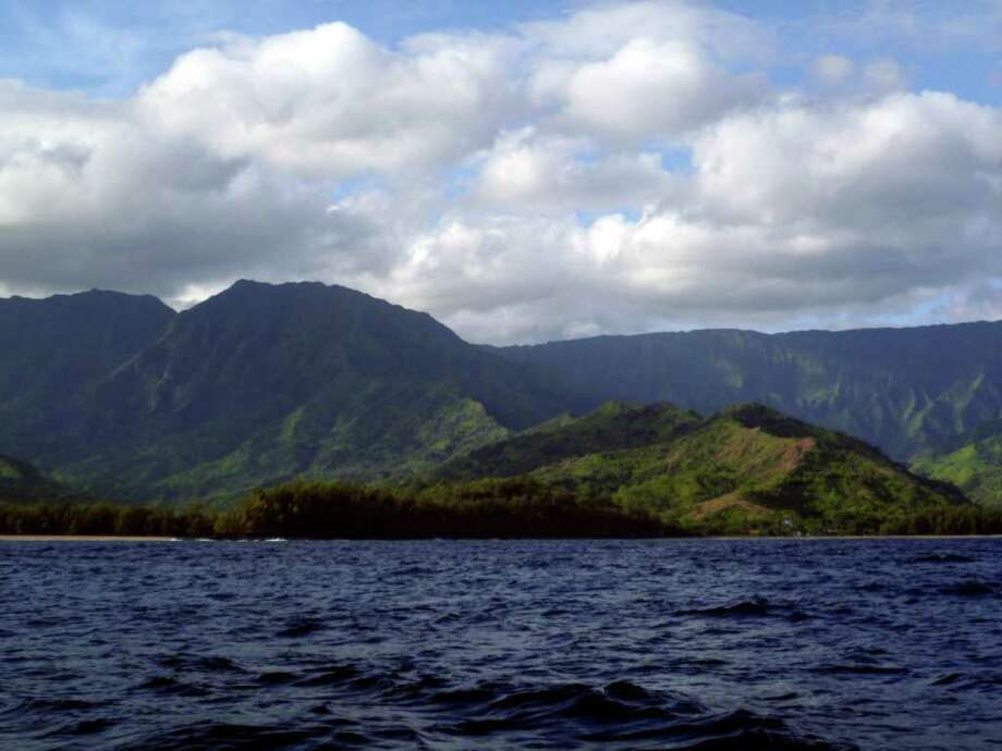 Kauai is the northernmost of Hawaii's islands and receives fewer visitors than Oahu, the Big Island or Maui. Photo: Christina Rexrode / ap