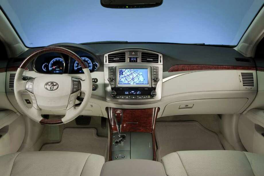4. 2014 Toyota Avalon HybridMSRP: Starting at $35,555MPG: 40 city, 39 highwaySource: Insider Car News Photo: Toyota Motor Sales U.S.A., COURTESY OF TOYOTA MOTOR SALES U.S.A.