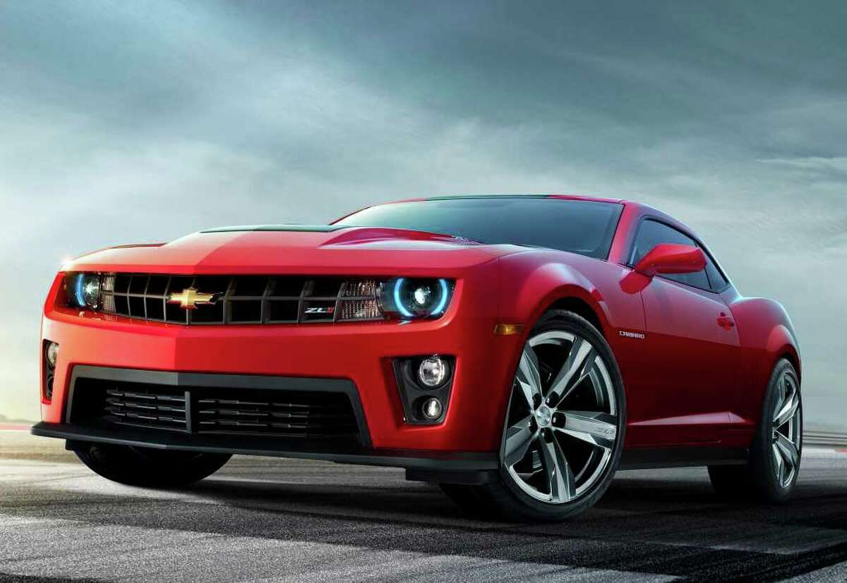 Prices for the 2012 Chevrolet Camaro ZL1 coupe will begin at $54,995 (plus freight), General Motors says. The car can go from zero-60 mph in 3.9 seconds. COURTESY OF GENERAL MOTORS CO.