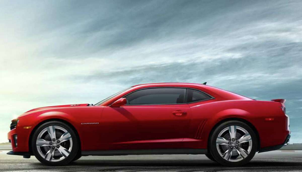 The four-passenger 2012 Camaro ZL1 coupe goes on sale in March, and a convertible version for 2013 will follow in the summer. COURTESY OF GENERAL MOTORS CO.