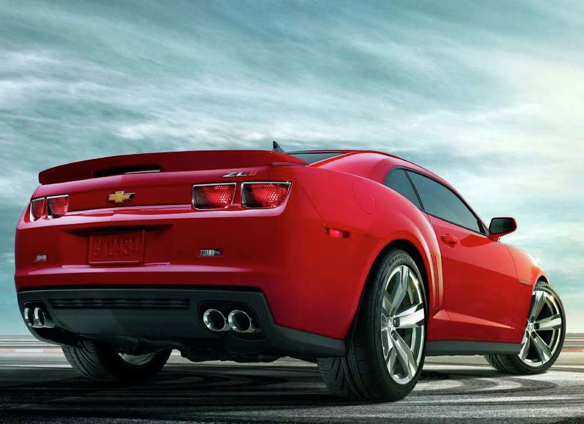 The 2012 Camaro ZL1 comes with special 20-inch wheels and a four-port exhaust system with special tuning to create a unique sound. COURTESY OF GENERAL MOTORS CO.