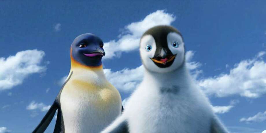 """Happy Feet Two"" follows the exploits of penguins Gloria and Mumble. Photo: WARNER BROTHERS"