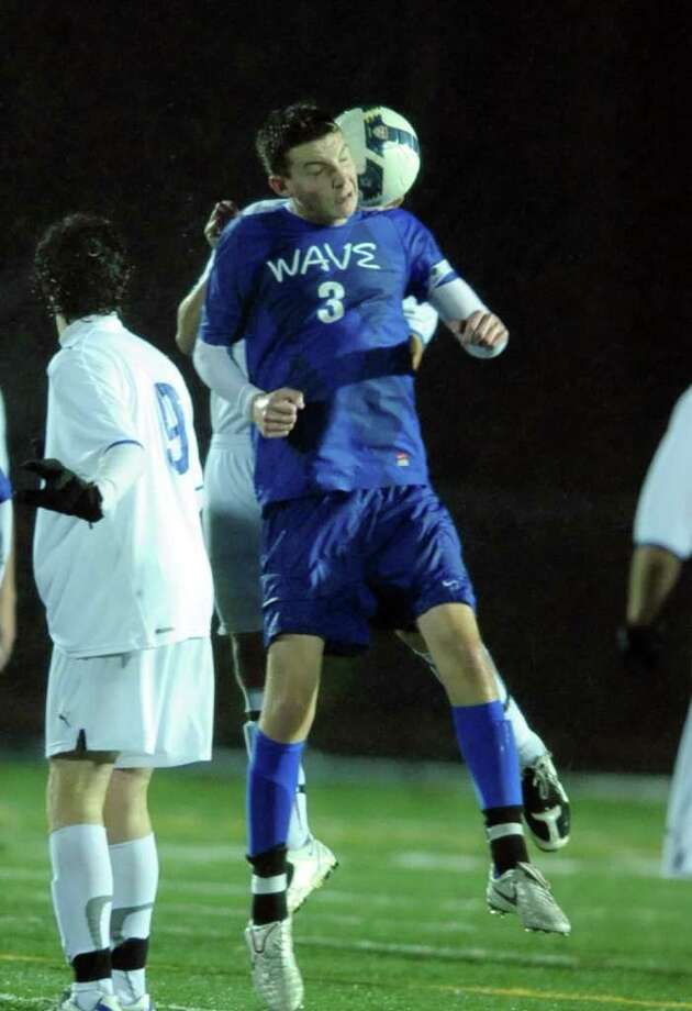 Bunnell vs. Darien in the 2011 Class L Boys Soccer quarterfinal match Wednesday, Nov. 16, 2011 at Bunnell High School in Stratford, Conn. Photo: Autumn Driscoll / Connecticut Post
