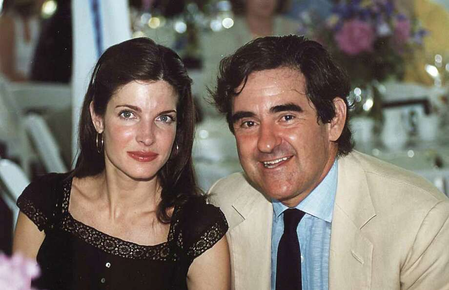 Contributed and undated photo of Stephanie Seymour (left) and husband, Peter Brant. Photo: ST