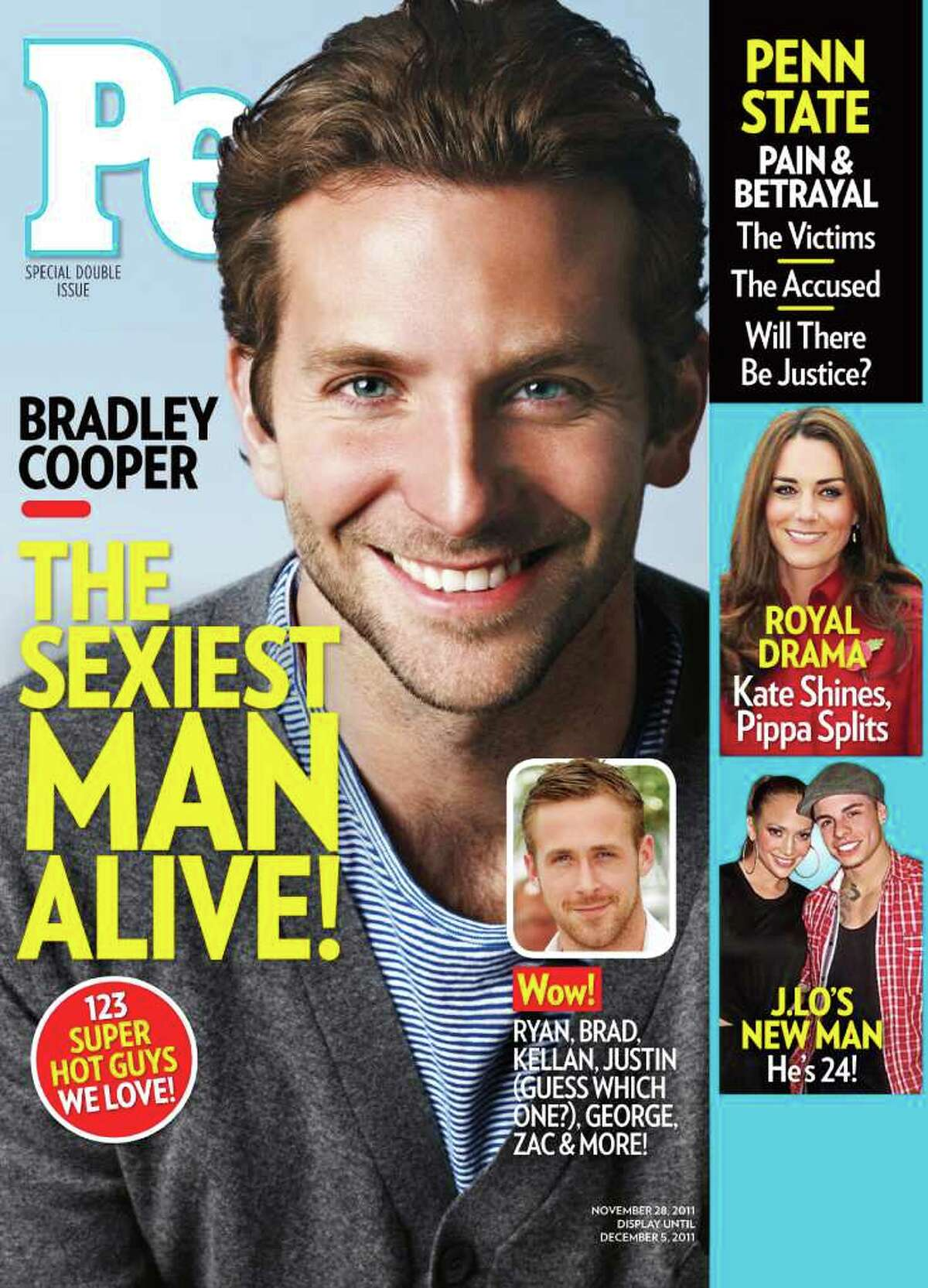 ASSOCIATED PRESS HED: Despite rumors about his love life, Bradley Cooper says he is single.