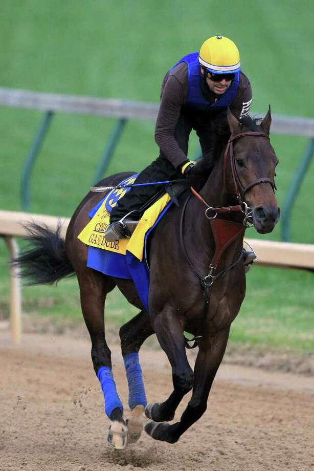 Three Bob Baffert-trained horses, including Game On Dude, are done racing for the year. Photo: Matthew Stockman / 2011 Getty Images