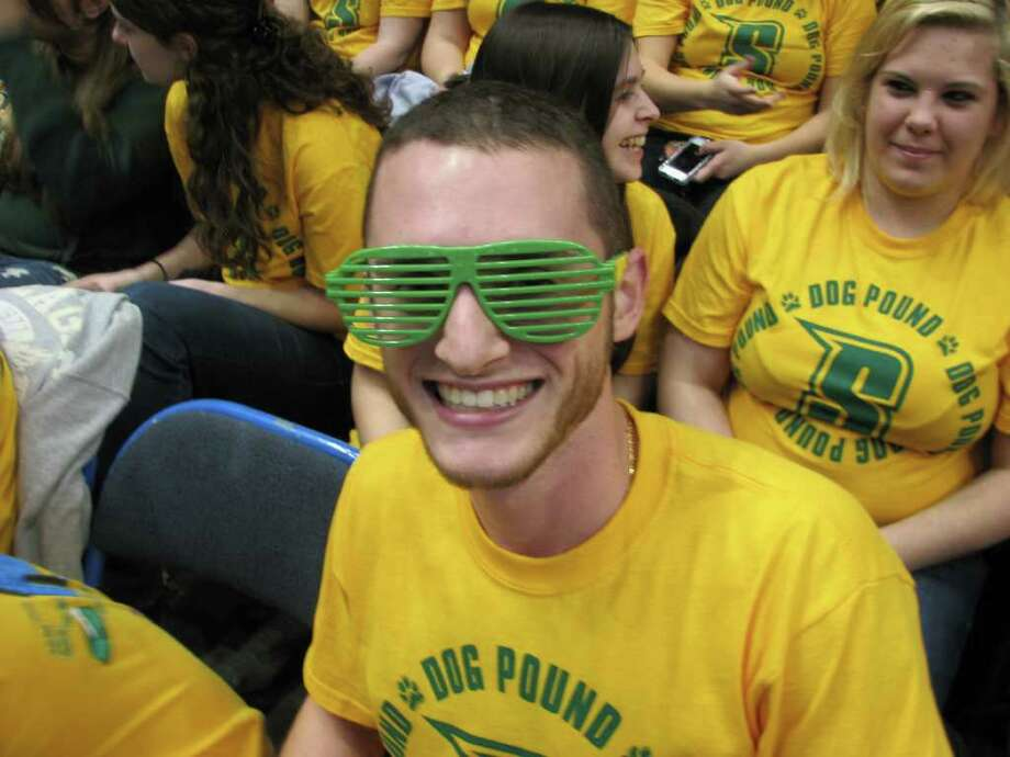 Were you Seen at the Siena men's basketball home opener at the Times Union Center on November 16, 2011? Photo: Kristi Gustafson Barlette/Times Union