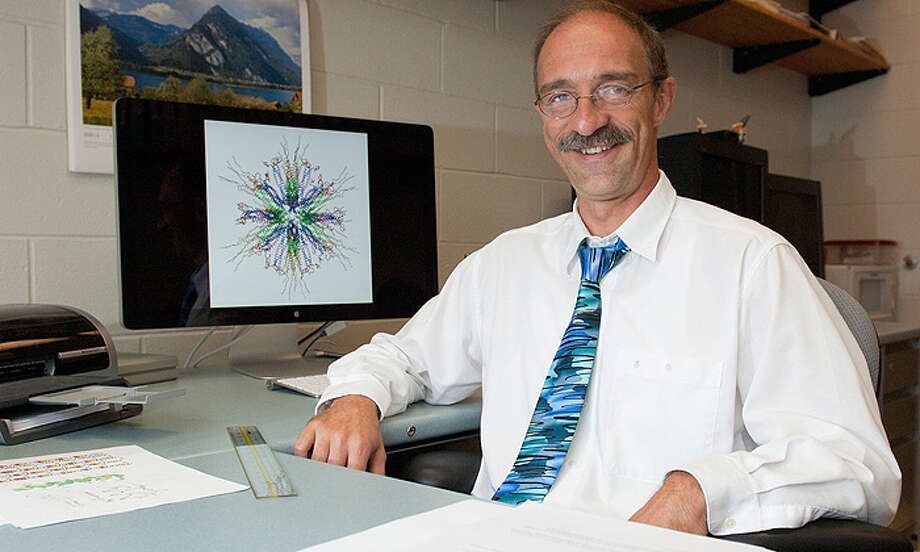 Peter Burkhard, an associate professor of molecular and cell biology at the University of Connecticut is part of a team looking to create a smoking vaccine. Photo: Contributed Photo