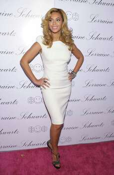 "NEW YORK - NOVEMBER 22:  Actress and singer Beyonce Knowles hosts the launch of Lorraine Schwartz's ""2BHAPPY"" jewelry collection at Lavo NYC on November 22, 2010 in New York City. Photo: Michael Loccisano, Getty Images / Getty Images North America"