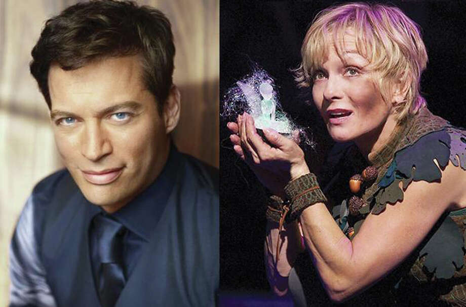 """Harry Connick, Jr., featured on Broadway in """"On A Clear Day You Can See Forever,"""" and Cathy Rigby, in her production of """"Peter Pan"""" will help Summer Theatre of New Canaan with a Broadway ticket benefit. Photo: Contributed Photo"""