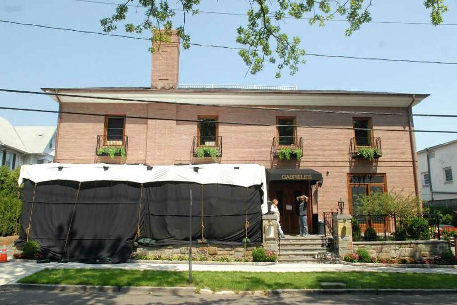 Gabriele's Italian Steakhouse on Church Street in Greenwich Aug. 2, 2011. Photo: Contributed/John Ferris Robben, Greenwich Time File / Greenwich Time Contributed