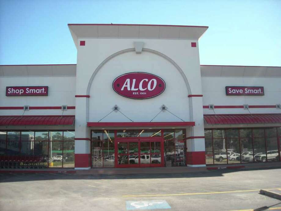 "The Alco store in Spring Branch is part of an Abilene, Kan.-based chain of 214 stores in small towns where there are few other retailers. The Spring Branch store is part of a ""large market"" test by the chain. Another store will open Nov. 25 in Pasadena. Photo: Katherine Feser"