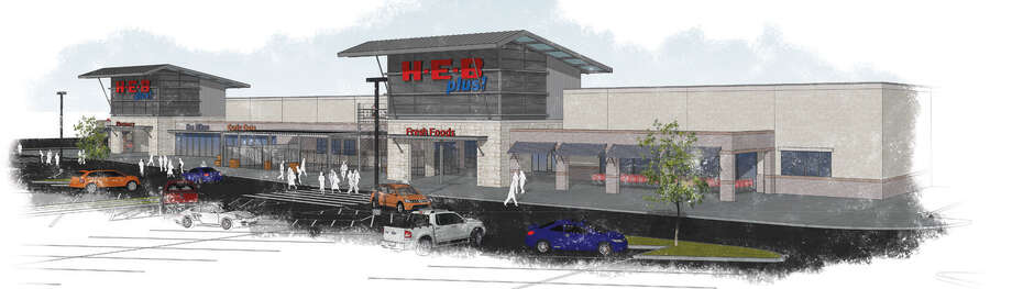 The new grocery store for Boerne opens Friday but will not be completed until next spring.