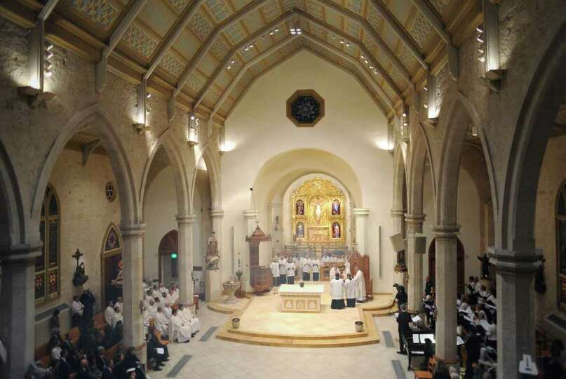 San Fernando Cathedral has a new altar, dedicated during a Mass on Thursday, Nov. 17, 2011.