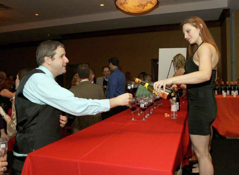 Were you seen at The 17th Annual Georges Duboeuf Beaujolais Nouveau Wine Celebration on Thursday, November 17, at the Hilton Garden Inn in Troy? Photo: Joe Putrock/Special To The Times Union