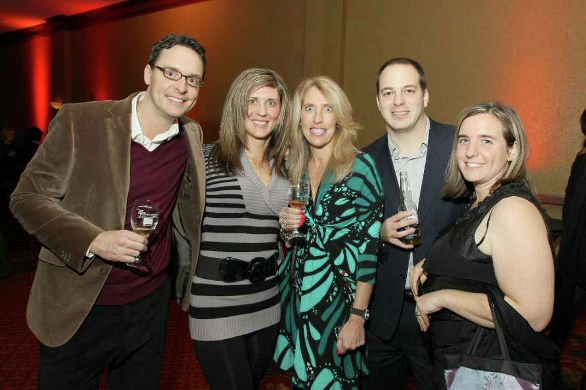Were you seen at The 17th Annual Georges Duboeuf Beaujolais Nouveau Wine Celebration on Thursday, November 17, at the Hilton Garden Inn in Troy?