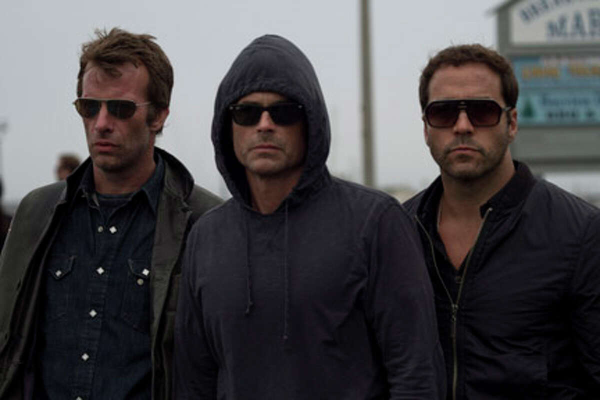 (L-R) Thomas Jane as Richard, Rob Lowe as Jonathan and Jeremy Piven as Ron in