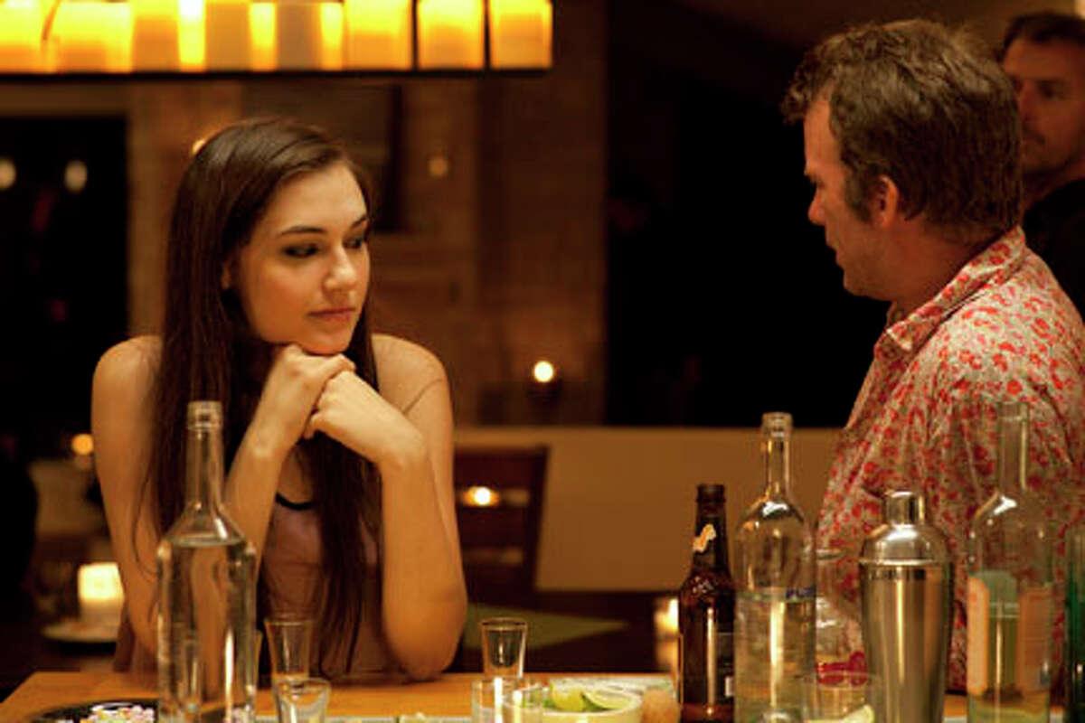 Sasha Grey as Raven and Thomas Jane as Richard in