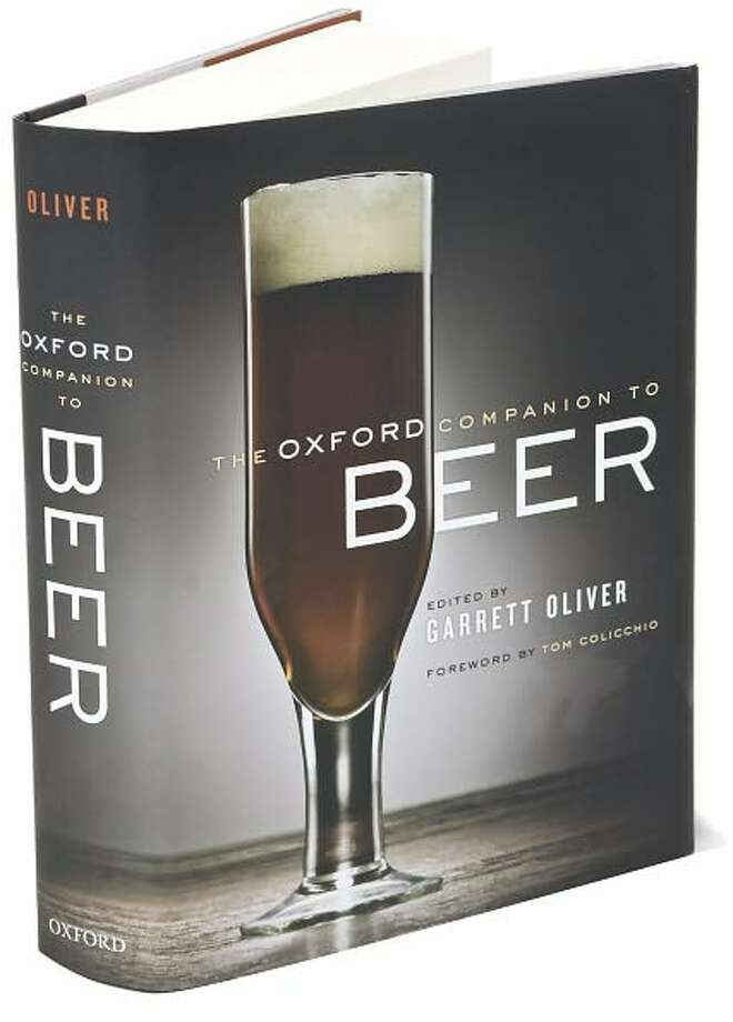 Cover for The Oxford Companion to Beer, edited by Garrett Oliver Photo: Xx