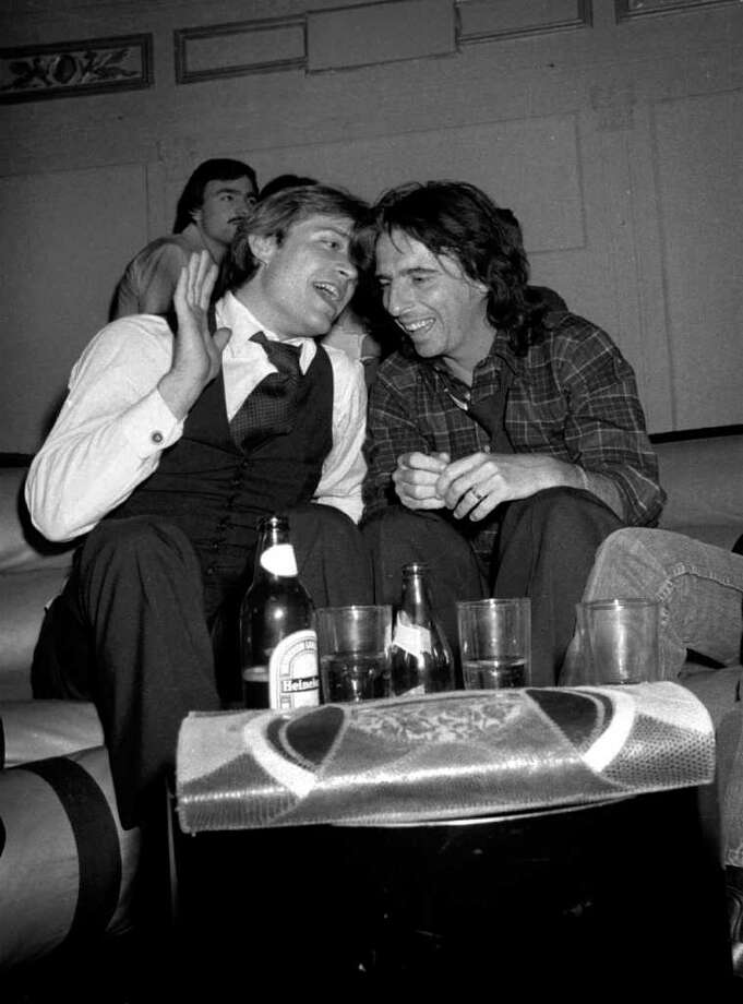 file photo heyday: Jack Ford, left, son of President Gerald Ford, talks with singer Alice Cooper in 1978 at New York's famed Studio 54. The disco club is the setting for a new Broadway show from director Tommy Tune, who was in self-imposed exile after two flops in the early 1990s. / AP