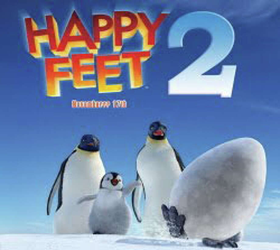 "The animated ""Happy Feet Two"" is now playing in area movie theaters. Photo: Contributed Photo / Westport News contributed"